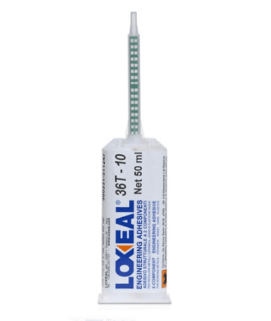 Loxeal 36T-10, two part epoxy adhesive, suitable for bonding metal, ceramics, wood, plastics and composites, and many plastics