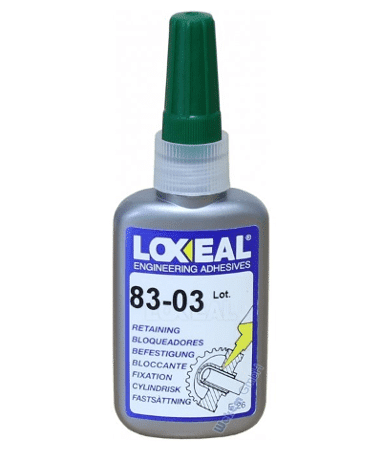 Fast curing high strength anaerobic adhesive for locking and sealing threads and retaining of cylindrical components. Approved for Gas (Gaz de France). Drinking water Certification