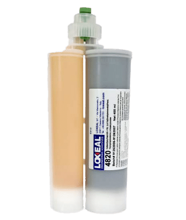 Loxeal 4820, self leveling, modified epoxy adhesive for flexible bonding, bond, PA, ABS, PC, PET, PMMA,PI, metals, ceramics, composites