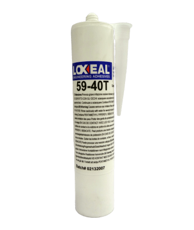 Loxeal 59-40T, transparent, modified silane sealant for bonding and sealing applications.