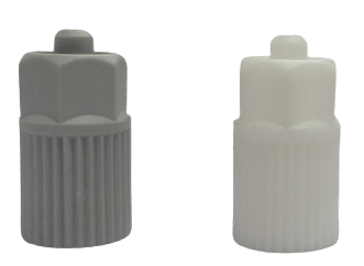 luerlock adapter for connecting needles/micro nozzles to disposable static mixers for adhesive dispensing and bonding