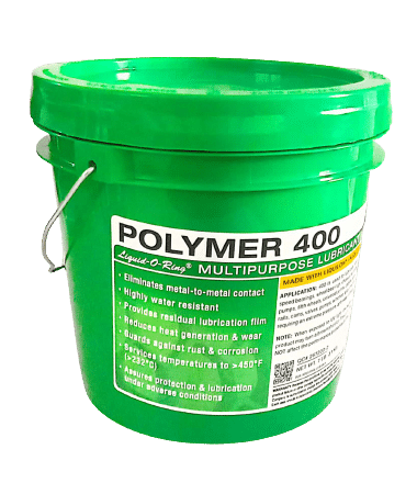 Polymer 400, multipurpose water resistant lubricant with LIQUILON