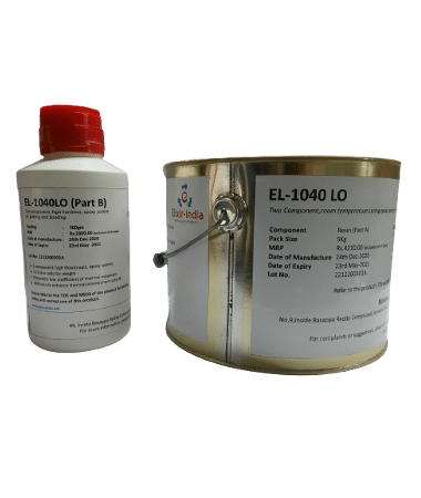EL-1040LO, epoxy adhesive, offers extremely low coefficient of thermal expansion, capable of withstanding cryogenic temperature of 4K (-269.15°C), used for bonding, potting, encapsulation in electronic, aerospace industry