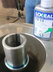 Loxeal 70-14, wicking grade, high strength thread locker for retaining application